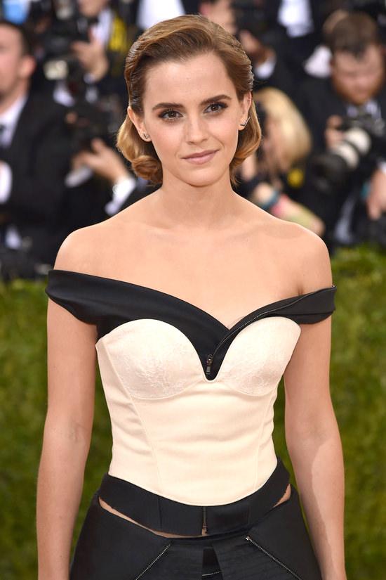 Musas do Met - Emma Watson Detalhes