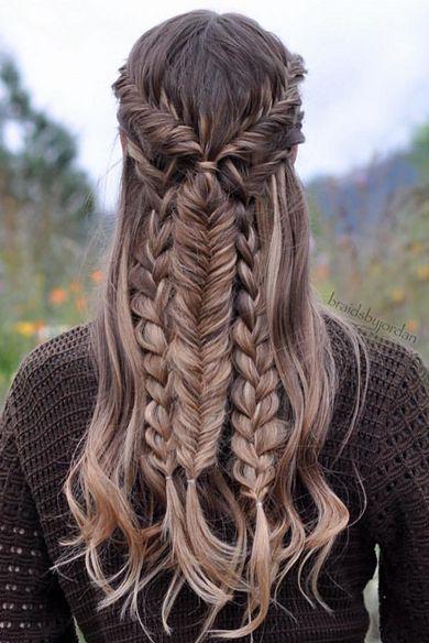 Penteados Sereia