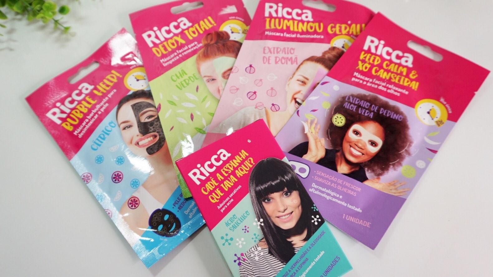 Mascaras Faciais Ricca